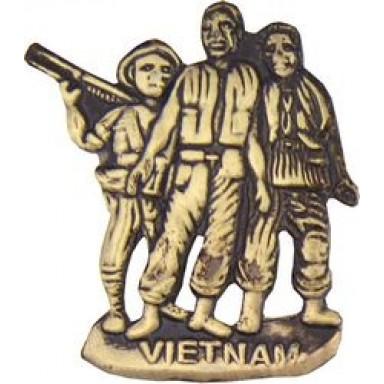 3 Men Small Hat Pin
