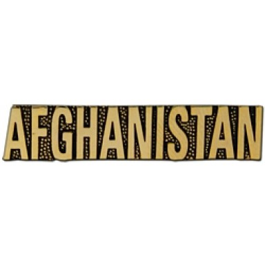 Afghanistan Small Hat Pin