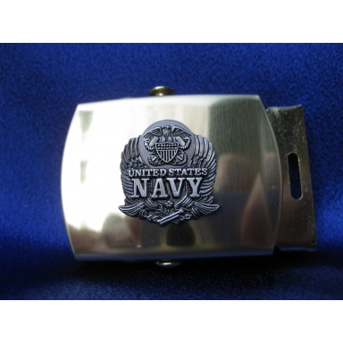 US Navy Web Belt with Buckle