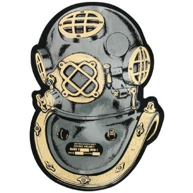 Diver Helmet Decal