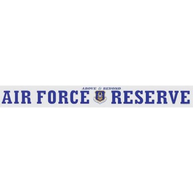US Air Force Reserve Decal