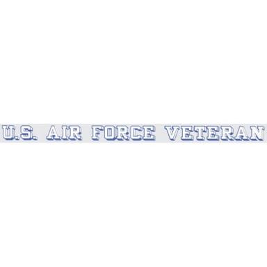 US Air Force Veteran Decal