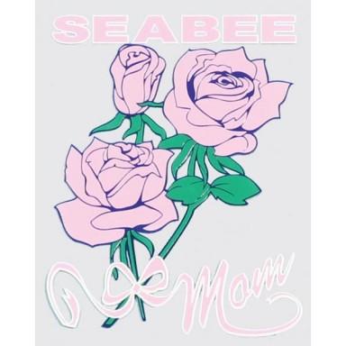 Seabee Mom Decal