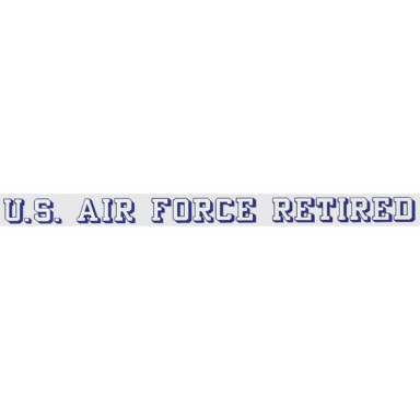 US Air Force Retired Decal