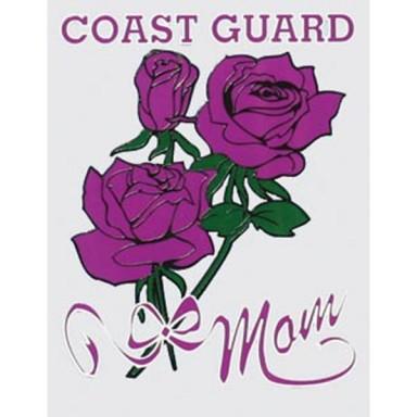 Coast Guard Mom Decal