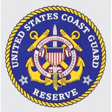 United States Coast Guard Reserve Decal