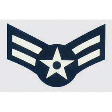 USAF E-3 1st Class Decal