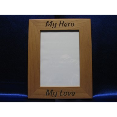 My Hero Picture Frame