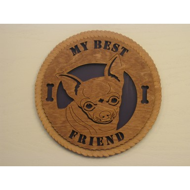 Best Friend Chihuahua Plaque