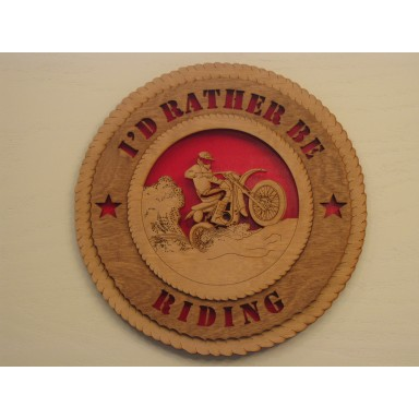 Riding Plaque