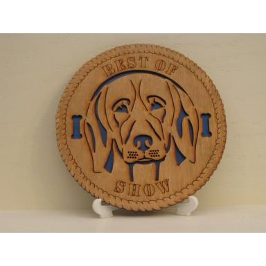 Beagle Desktop Plaque