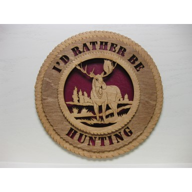 Hunting Plaque