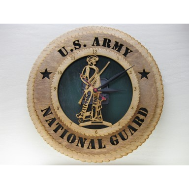 Army National Guard Clock
