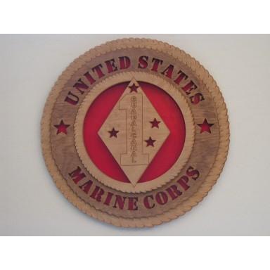 United States Marine Corps 1st Division Guadalcanal Plaque