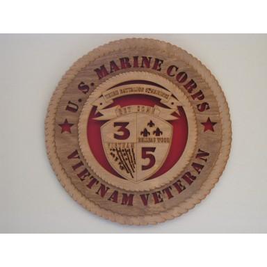 US Marine Corps Veteran Vietnam 3rd Bn 5th Marines