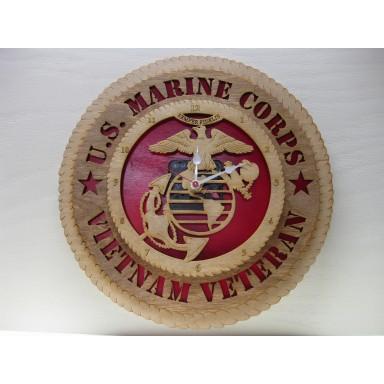USMC Vietnam Veteran Clock
