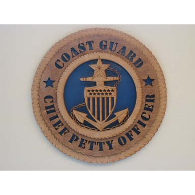 Coast Guard Senior Chief Petty Officer Plaque