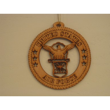 Military Ornament US Air Force