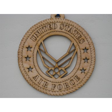 Military Ornament Air Force Wing