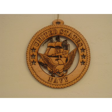 Military Ornament US Navy