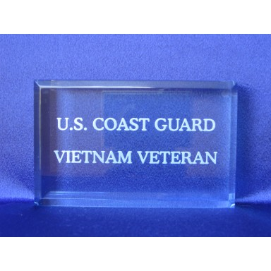 Branch of Service Paperweight USCG