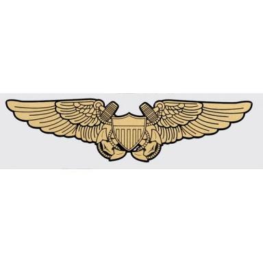 Navy Wings Flight Officer Decal