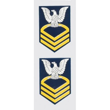 Navy Rank E-7 Chief Decal