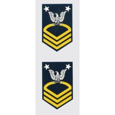 Navy Rank E-9 Master Chief Decal