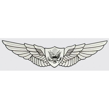 Army Air Crew Wings Decal