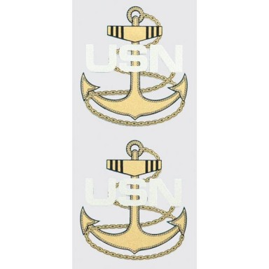 Navy Anchor CPO Decal