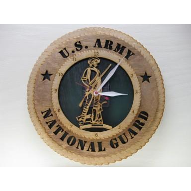 Army National Guard Clock