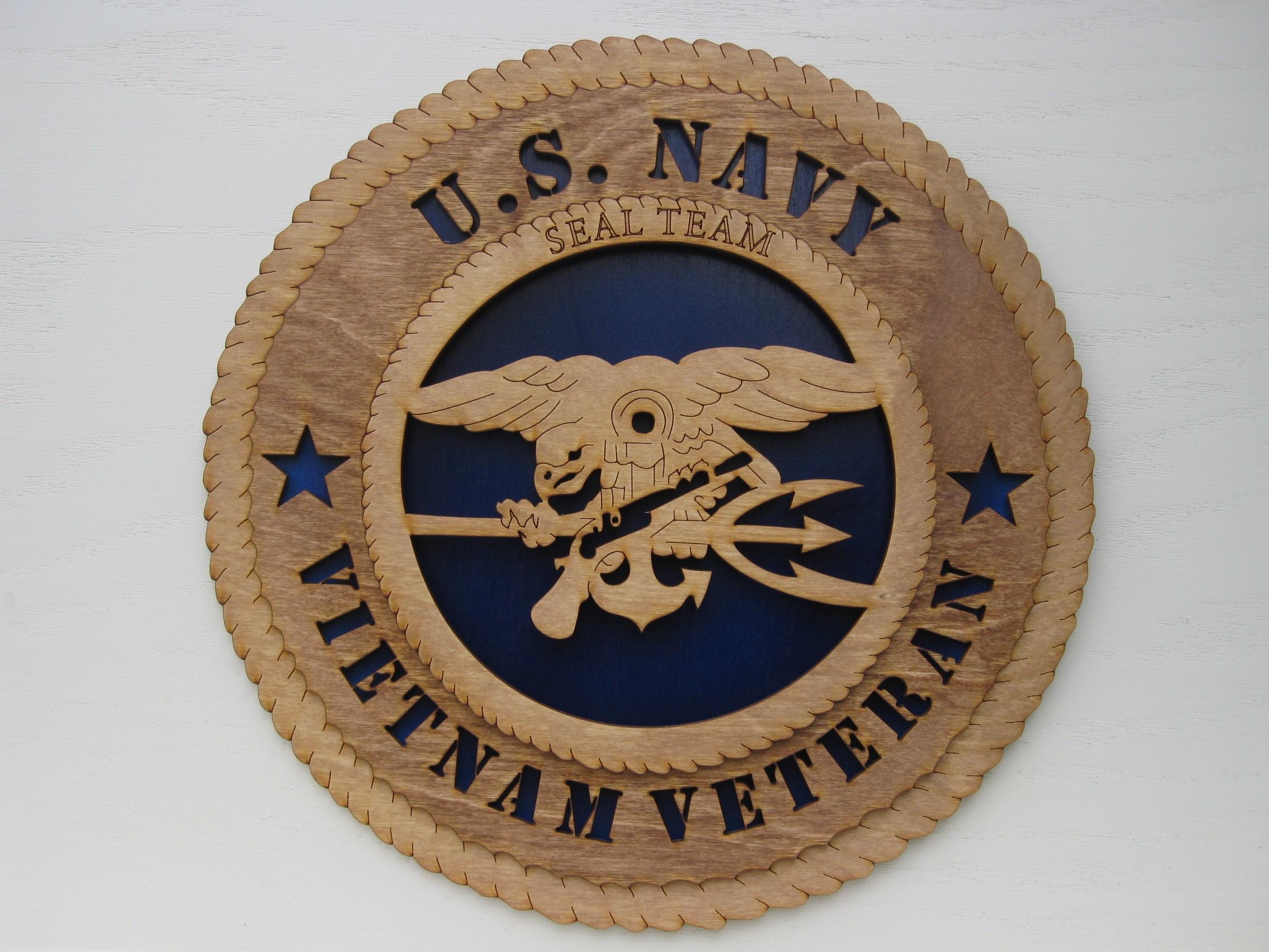 Us navy military plaque micks military shop us navy seal team vietnam veteran plaque biocorpaavc