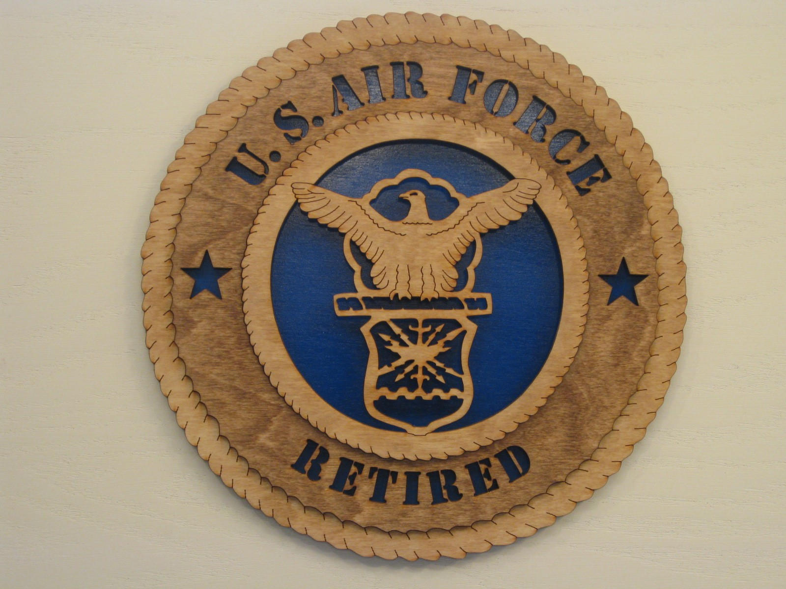 us air force military plaque
