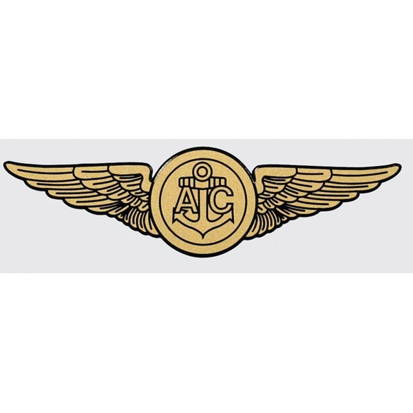 Navy Wings Aircrew Decal - Navy - Decals & Stickers