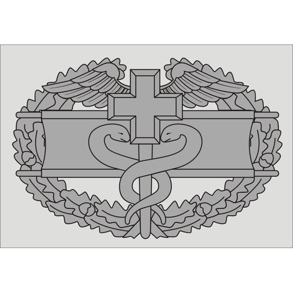Combat Medic Badge Decal Army Decals Stickers