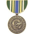 Korean Defense Service Miniature Medal Pin
