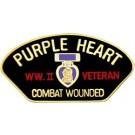 WW II Vet PH Small Hat Pin