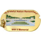 WW II Memorial Small Hat Pin
