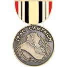 Iraq Campaign Miniature Medal Pin