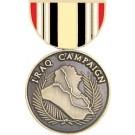 Iraq Campaign Miniature Medal Pin