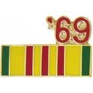 1969 Vietnam Small Hat Pin