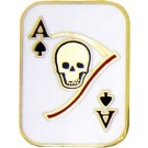 Death Card Small Hat Pin