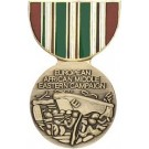 Eur-Afr-Mid East Miniature Medal Pin