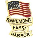 Rem Pearl Harbor Small Hat Pin