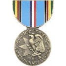 Armed Forces Exp Miniature Medal Pin