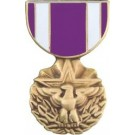 Meritorious Service Miniature Medal Pin