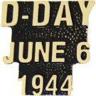 D-Day Small Hat Pin