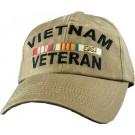 Vietnam Veteran Embroidered Cap