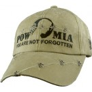 POW MIA Embroidered Cap