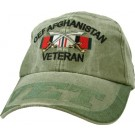 OEF Afghanistan Veteran Embroidered Cap